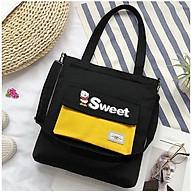 Túi xách tote vải Túi Tote Túi Vải Nữ Túi Đeo Chéo Đeo Vai Hàn Quốc Đáng Yêu Tiện Lợi Đi Học Đi Chơi Hàn Quốc Sweet Gà con - Munnini thumbnail