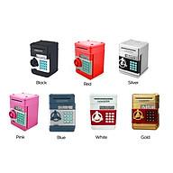 Automatic Roll Mini Paper Money Storage Machine Lock Password Coin Cash Box (White) thumbnail