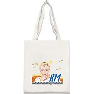 Túi tote vải in hình RM BTS thumbnail