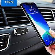 Giá nam châm gắn trên ô tô TOPK D24 cho iPhone 12 Pro HUAWEI P40 Xiaomi OPPO Vivo - INTL - Ha ng chi nh ha ng thumbnail