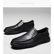 Giày da nam, giày da đậu Hà Lan , chống trơn, chống mài mòn, giày cho bố, giày trung niên - Mã 26775 thumbnail