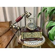 Điện thoại bàn cổ điển MS1 ( NGHE GỌI BẰNG SIM DI ĐỘNG) thumbnail