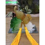 Bắp cải phong thủy cõng hồ lô - Vàng thumbnail