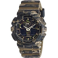 Casio Men s G-Shock GA100CM-5A Multi Resin Quartz Watch thumbnail