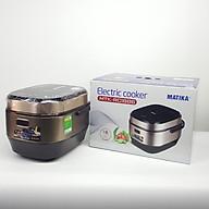 Nồi cơm điện tử Matika Electric Cooker MTK-RC1886 - Hàng chính hãng thumbnail