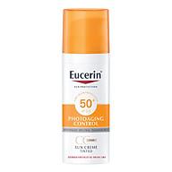 Kem Chống Nắng Làm Đều Màu Da Eucerin Sun Cream Face Tinted CC Cream SPF50+ (Tông Màu Da Tự Nhiên) thumbnail