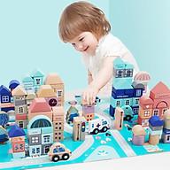 Trò chơi xây dựng thành phố theo trí tưởng tượng, sở thích của bé, đào tạo kỹ sư tương lai thumbnail