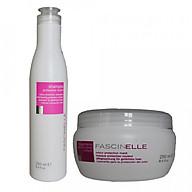 Bộ dầu gội dưỡng màu và kem ủ xả dưỡng màu cho mái tóc nhuộm Fascinelle ( Ý) - DMC013 thumbnail