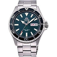 Orient Men s Automatic Watch with Stainless Steel Strap, Grey, 22 (Model RA-AA0004E19B) thumbnail