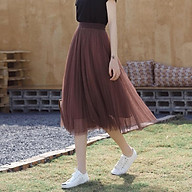 Chân váy ren xếp ly 3 lớp thumbnail