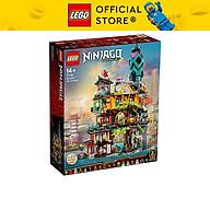 LEGO N INJAGO 71741 Khu Vườn Thành Phố Ninjago (5685 chi tiết) thumbnail