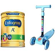 Combo 1 lon sữa bột Enfagrow A+ 4 1.7kg - Tặng Đồ chơi xe Scooter thumbnail