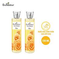 Combo 2 Nước hoa toàn thân cao cấp Enchanteur hương Chic Princess Beauté 100ml chai thumbnail