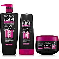 Bộ chăm sóc tóc ngăn gãy rụng tóc toàn diện L Oreal Paris Fall Resist 3X thumbnail