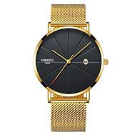 Đồng hồ thời trang công sở nam NIBOSI chính hãng NI2321 (Phụ kiện thời trang) fullbox, chống nước - Mặt kính Mineral, day thép lưới cao cấp không gỉ thumbnail