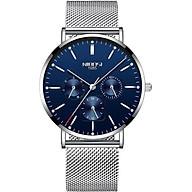 Đồng hồ thời trang cao cấp lịch lãm , thanh lịch dành cho nam giới dây thép NIBOSI NI2321_1S thumbnail