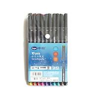 Bộ bút màu lông kim 10 cây Fine line drawing pen PEN005 thumbnail