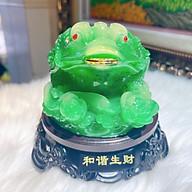 Thiềm Thừ Cóc Ngậm Tiền Phong Thủy Chiêu Tài, Chiêu Lộc Đ.PK043 thumbnail