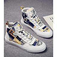 Giày Sneaker Phong Cách Hàn Quốc, Họa Tiết in Hình 3D CỰC CHẤT - S93 thumbnail