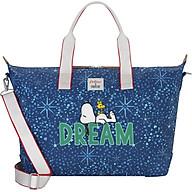 Túi du lịch Cath Kidston họa tiết Dream Midnight Stars PL02 (Snoopy Dream Midnight Stars PL02 Overnight Bag) thumbnail