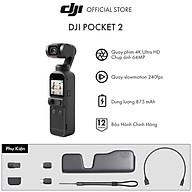 Máy quay phim DJI Osmo Pocket 2 Chống Rung 4K 60fps Basic - Hàng Chính Hãng - Bảo Hành 12 Tháng thumbnail