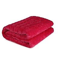Thảm trải giường nỉ nhung cao cấp loại 1(giao màu ngẫu nhiên) 1m6x2m thumbnail