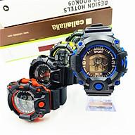Đồng hồ điện tử nam Sport mẫu mới cá tính sp1,mặt tròn dây nhựa dẻo,hiển thị giờ - ngày tháng và đèn thumbnail