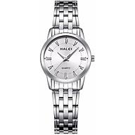 Đồng hồ Nữ Halei - HL502 Dây trắng mặt trắng thumbnail