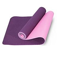 Thảm Tập Yoga 2 Lớp TPE 6mm Cao Cấp - Thảm Tập Gym và Yoga Chuyên Nghiệp QS - Nhiều Màu thumbnail