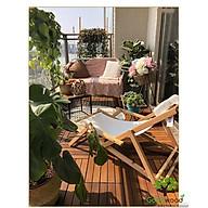 Sàn gỗ ban công (30x30x2.5cm) 6 Nan - sàn gỗ vỉ nhựa ban công - sàn gỗ sân vườn - sàn gỗ ngoài trời - GLIMER thumbnail