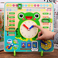Đồ chơi gỗ - bảng đa năng hình con Ếch thumbnail