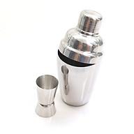 Combo bình lắc và ly đong định lượng pha chế 2 đầu inox 304 cao cấp BLD01 Nhà cửa đời sống thumbnail