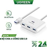 Hub USB 3.0 4 cổng tốc độ 5Gbps UGREEN CR113 - Hàng chính hãng thumbnail
