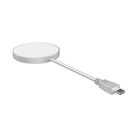 X428 MagSafe Wireless Charger 15W Power Compatible with QC PD Fast Charging Replacement for iPhone 12 Series Silver thumbnail
