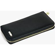 Ví Nữ Da Bò Cao Cấp Màu Đen WT Leather 0625.2 thumbnail