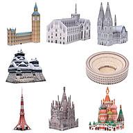 Mô hình giấy cắt dán thủ công Kiến trúc Mini Combo 0005 thumbnail