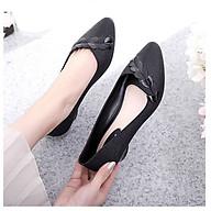 Giày nhựa cao su cho nữ giày nhựa đi mưa Alina cao 3p giá rẻ kiểu dáng thời trang V274 thumbnail