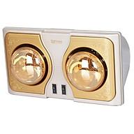 Đèn sưởi Hans Kottmann 2 bóng vàng K2BH - Hàng chính hãng thumbnail