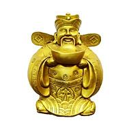 Tượng thần tài tài bạch minh quân bằng đồng thau phong thủy Hồng Thắng thumbnail