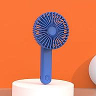 Quạt sạc tích điện cầm tay để bàn 6358 Mini Fan (5W) thumbnail