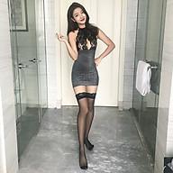 Sexy lingerie transparent bright silk nightclub uniform temptation package hip adult sexy nightdress (Q7) thumbnail