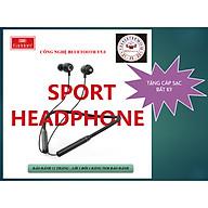 EARLDOM Tai nghe thể thao Bluetooth V5.0 có dây tiện lợi, thời gian sử dụng lâu, bền đẹp CHÍNH HÃNG - Tặng 01 cáp sạc bất kỳ - Hàng Chính Hãng thumbnail