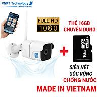 Camera IP Wifi ngoài trời VNPT Technology ONE HOME Home Vision chuẩn chống nước hàng chính hãng thumbnail