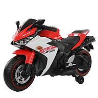 Xe máy điện moto 3 bánh R3 siêu thể thao đồ chơi cho bé tự lái (Đỏ-Hồng-Xanh) thumbnail