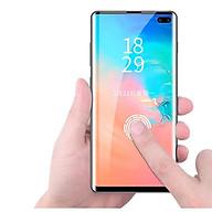 Tấm kính cường lực trong suốt full keo UV dành cho SamSung Galaxy Note 10 Plus thumbnail