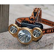 Đèn pin đội đầu, đeo trán TD101 ( Có thể dùng làm đèn dã ngoại, khả năng chiếu sáng cao, chống nước tốt - Tặng kèm 01 đèn pin bóp tay mini ) thumbnail
