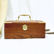 Hộp đựng trà gỗ hương hình Chữ Nhật thumbnail