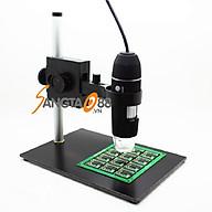 Kính hiển vi điện tử để bàn soi mẫu vật, lắp ráp mạch điện tử thông minh có đèn X4S-1000 (Tặng miếng thép đa năng 11in1) thumbnail