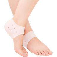 4 Bộ vớ silicon bảo vệ gót chân mềm mại chống nứt nẻ phù hợp cho nam và nữ thumbnail