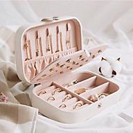 hộp đưng trang sức cho ban nữ chật liệu da pu thumbnail